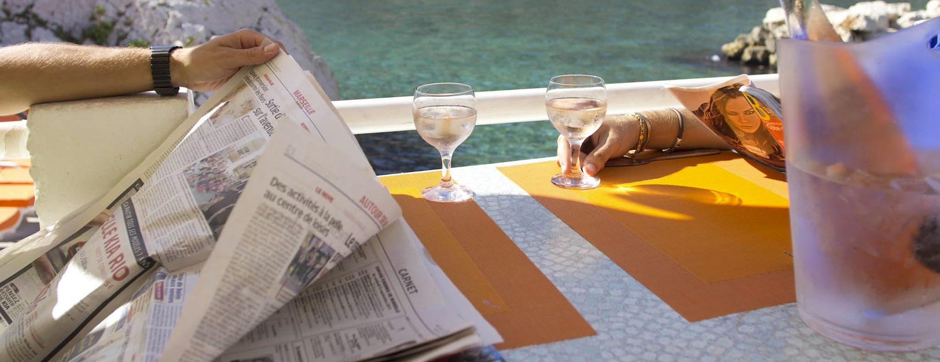 restaurant mer marseille